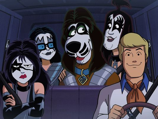 scooby gang mostly as kiss