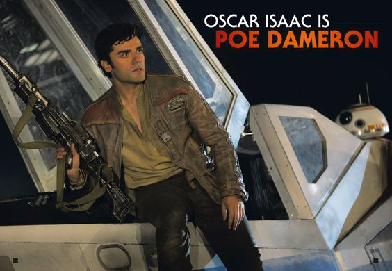 oscar isaac is poe dameron