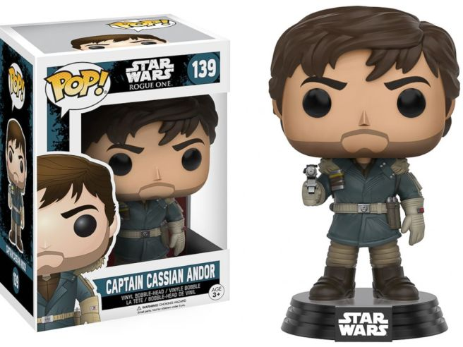 Image result for rogue one funko pop cassian andor