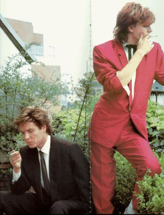 John Taylor and Simon Le Bon being perfect